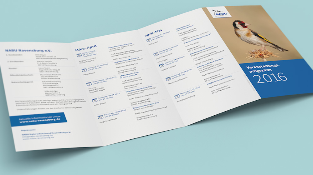 Programmblatt für den NABU Ravensburg e.V.