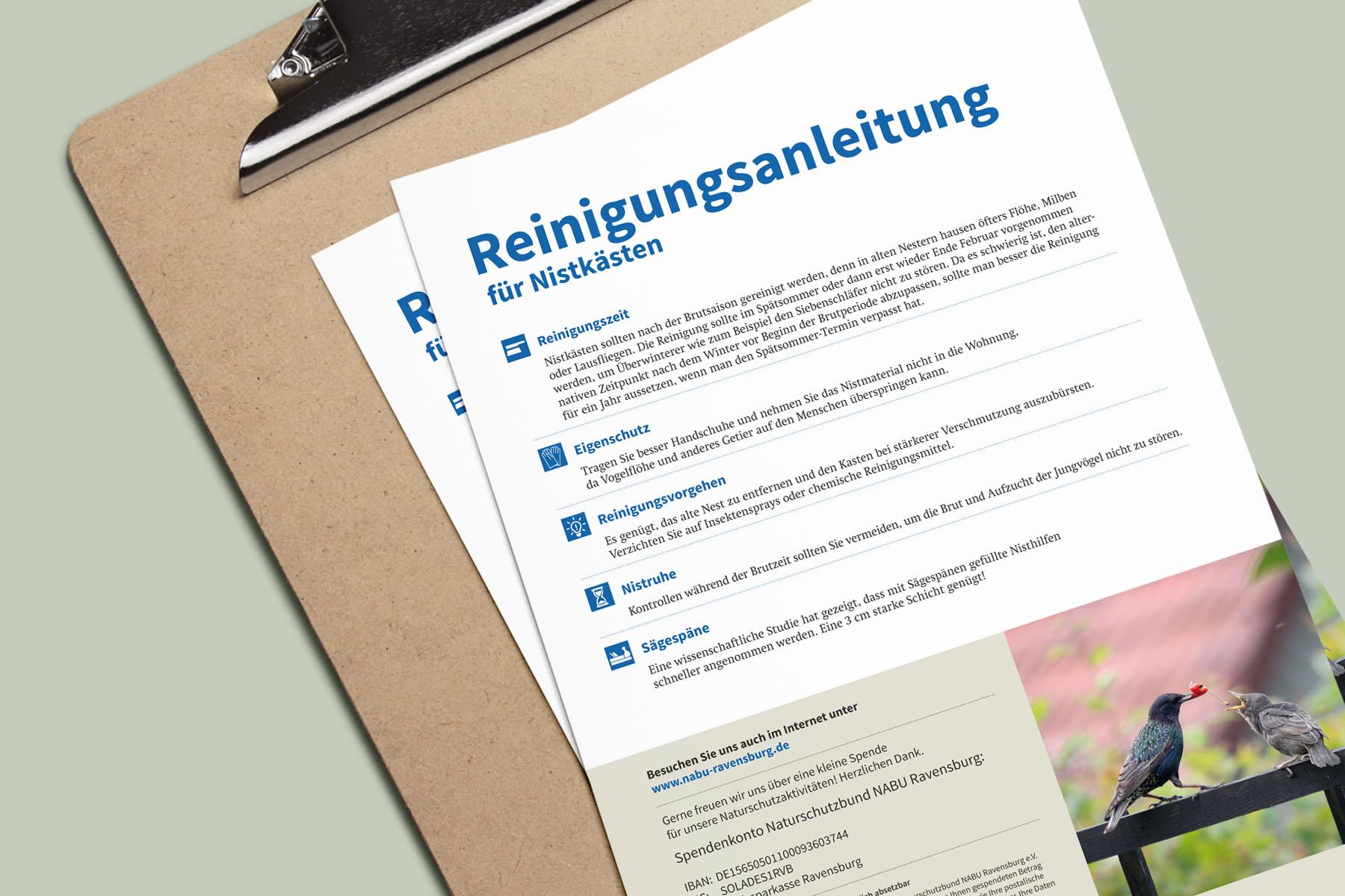 Anleitung für den NABU Ravensburg e.V.