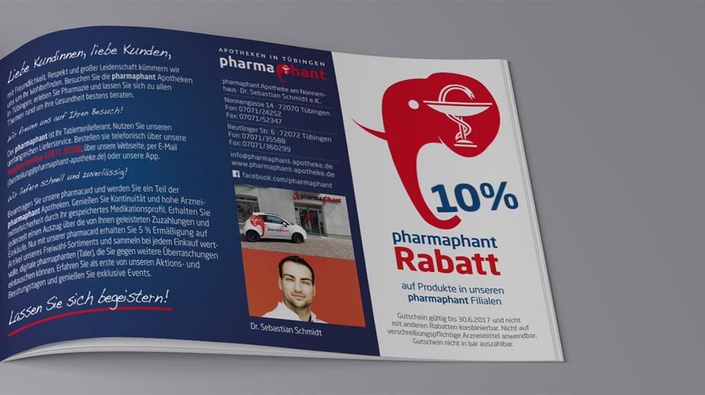 Pharmaphant Gutscheinheft