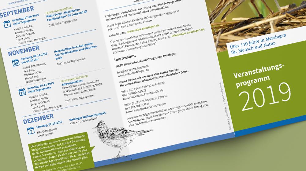 Jahresprogramm NABU Metzingen